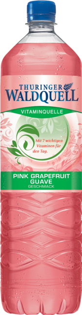 THÜR.WALDQ. VITAMINQUELLE PINK GRAPEFRUIT-GUAVE 1,5 PET CY